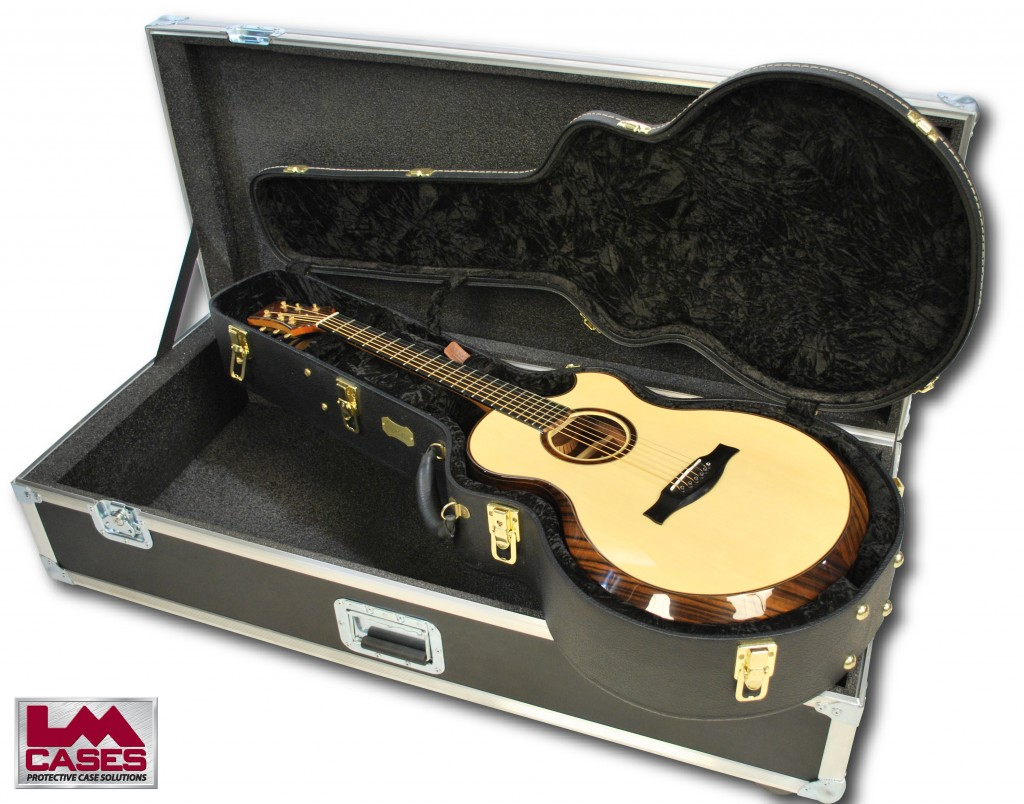 Custom Doerr Acoustic Guitar Flight Case