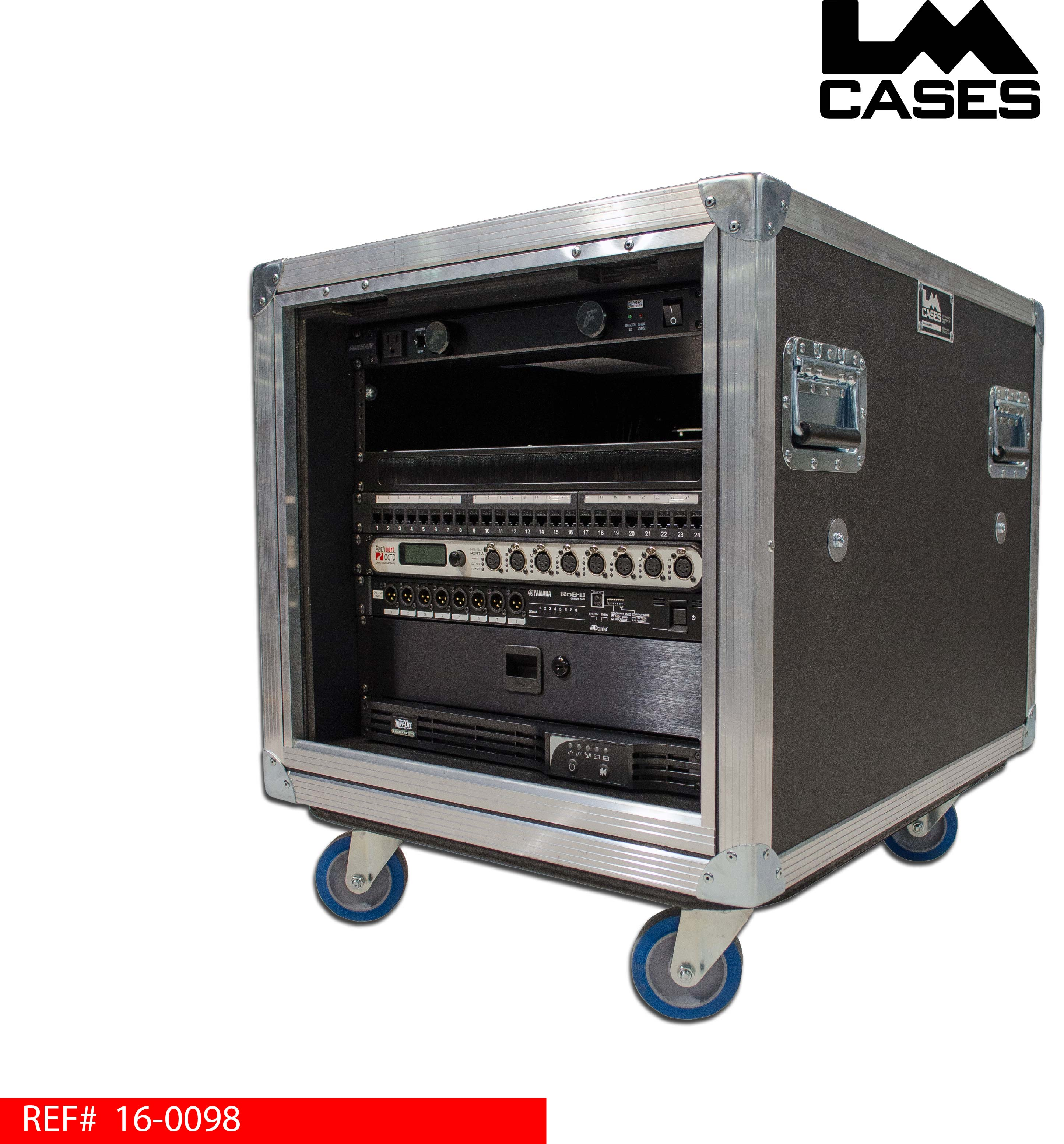 Portable Network Racks With Ups : Lm cases products